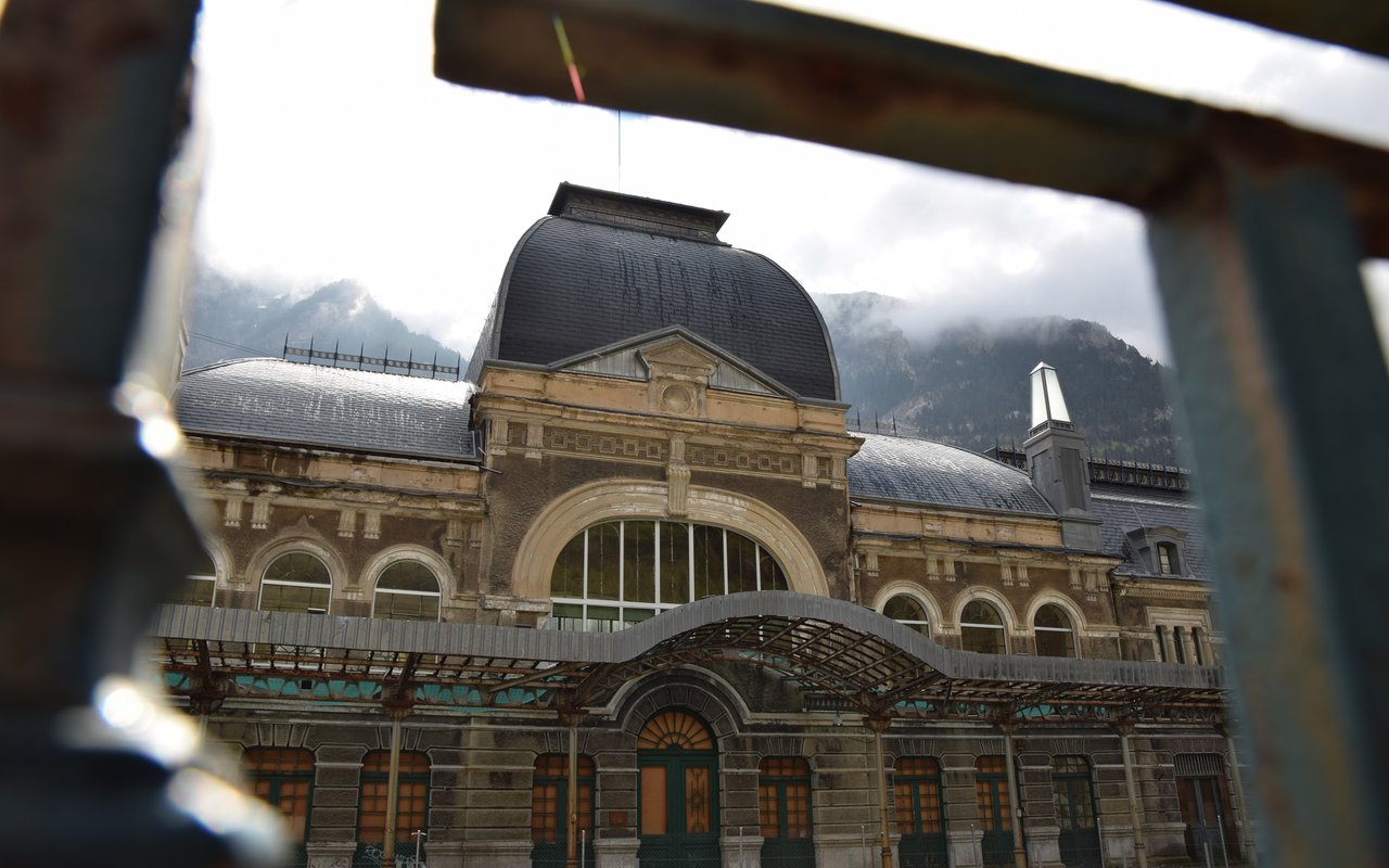 AWAYN IMAGE Canfranc International Railway Station