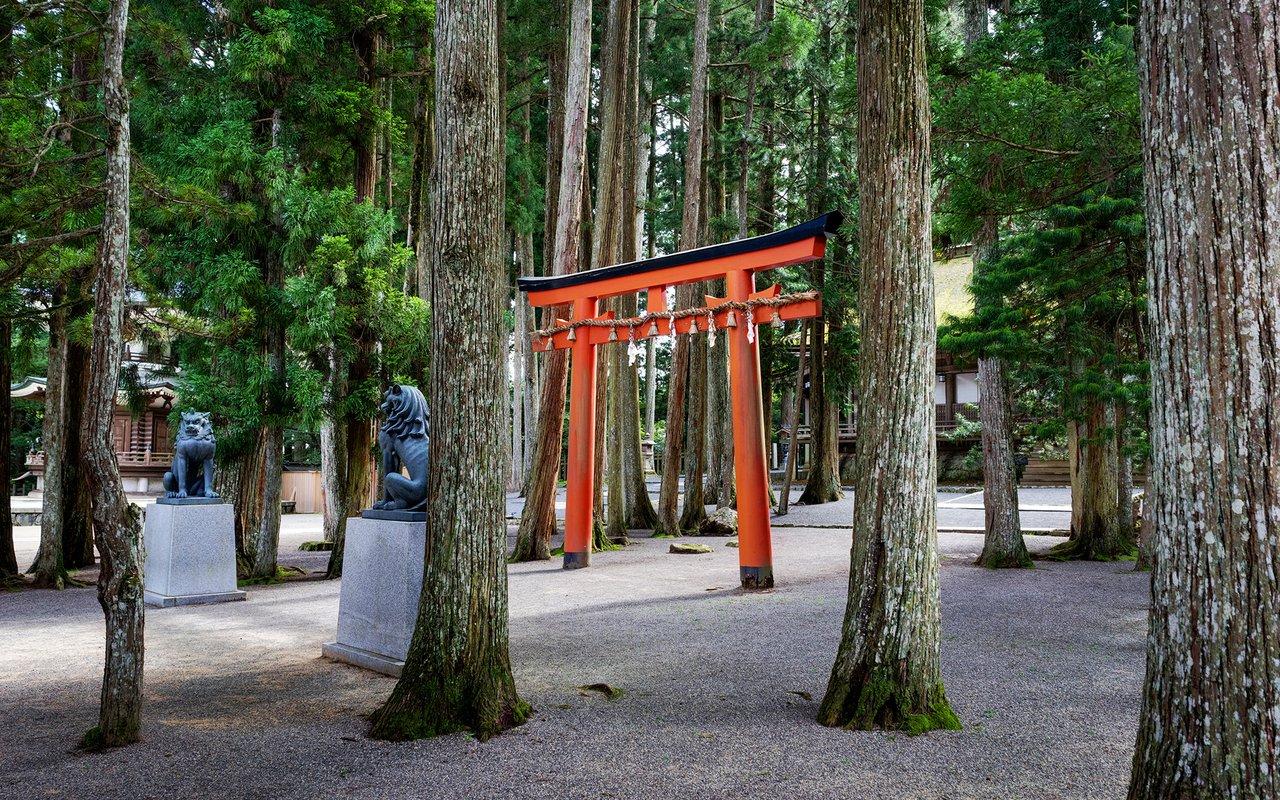 AWAYN IMAGE Okunoin Temple Kobo Daishi