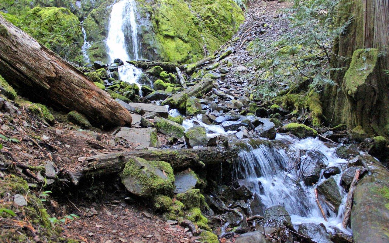 AWAYN IMAGE Moon Falls Trail/Spirit Falls