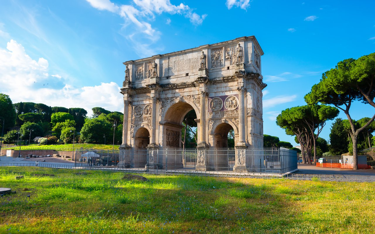 AWAYN IMAGE Arch of Constantine