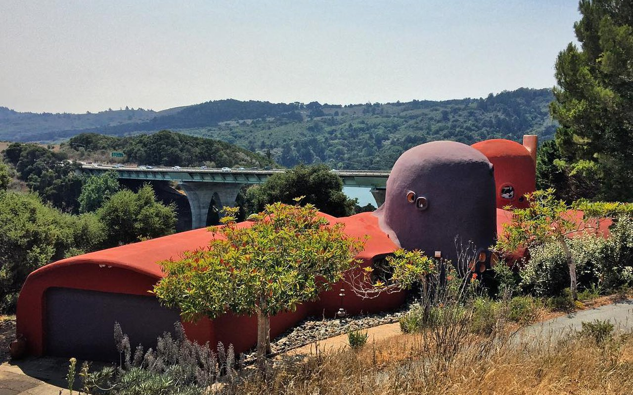 AWAYN IMAGE Photograph The Flintstone House