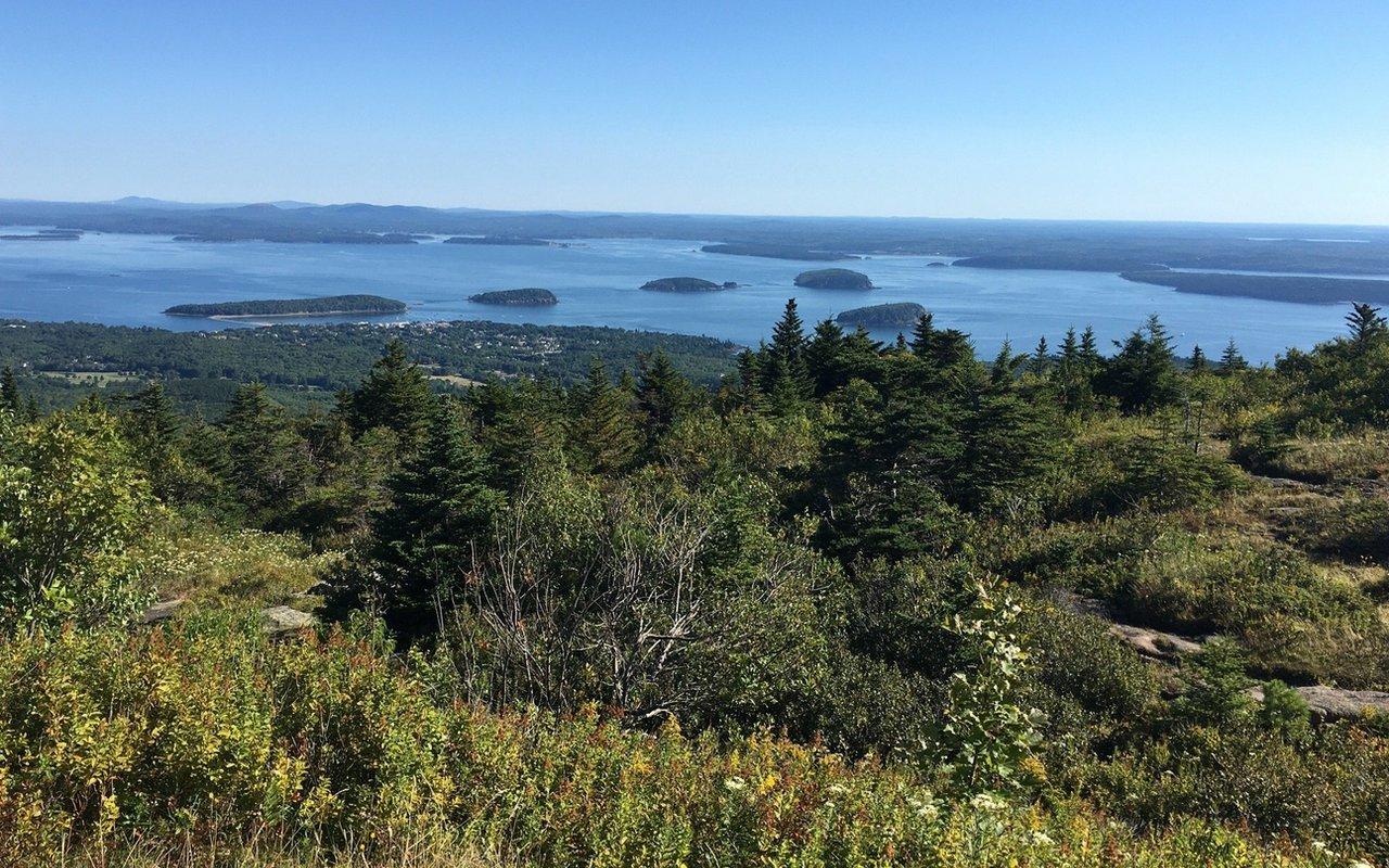 awayn - hike/drive cadillac mountain via the north ridge trail