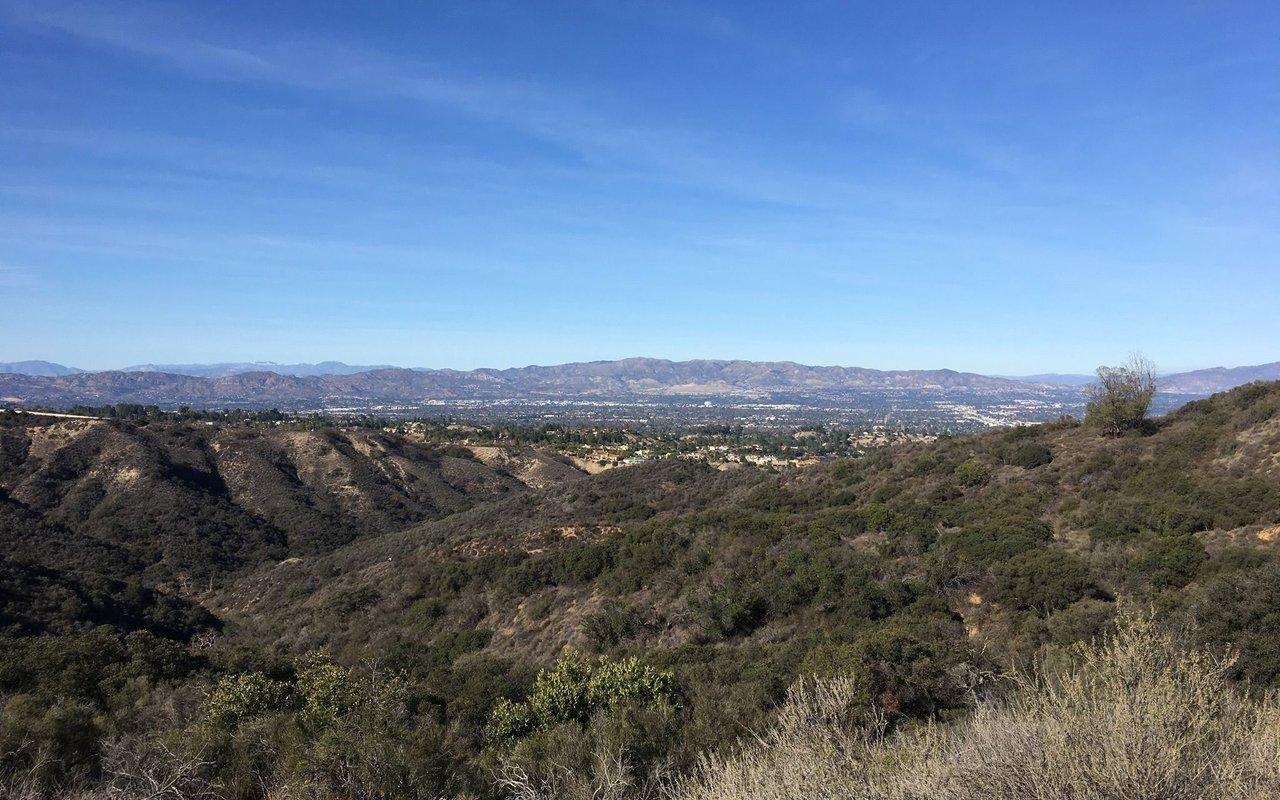 AWAYN IMAGE Caballero Canyon Trail Tarzana