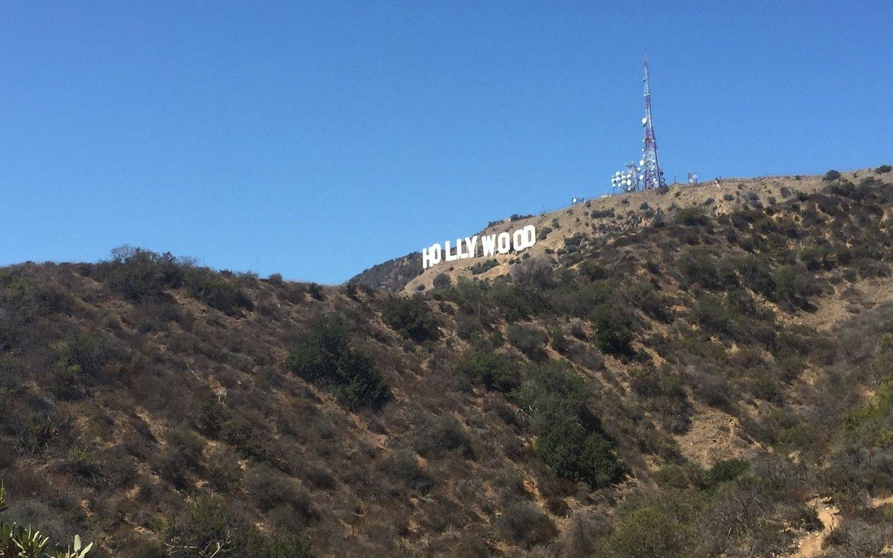 AWAYN IMAGE Hollywood Sign Hollyridge Trail