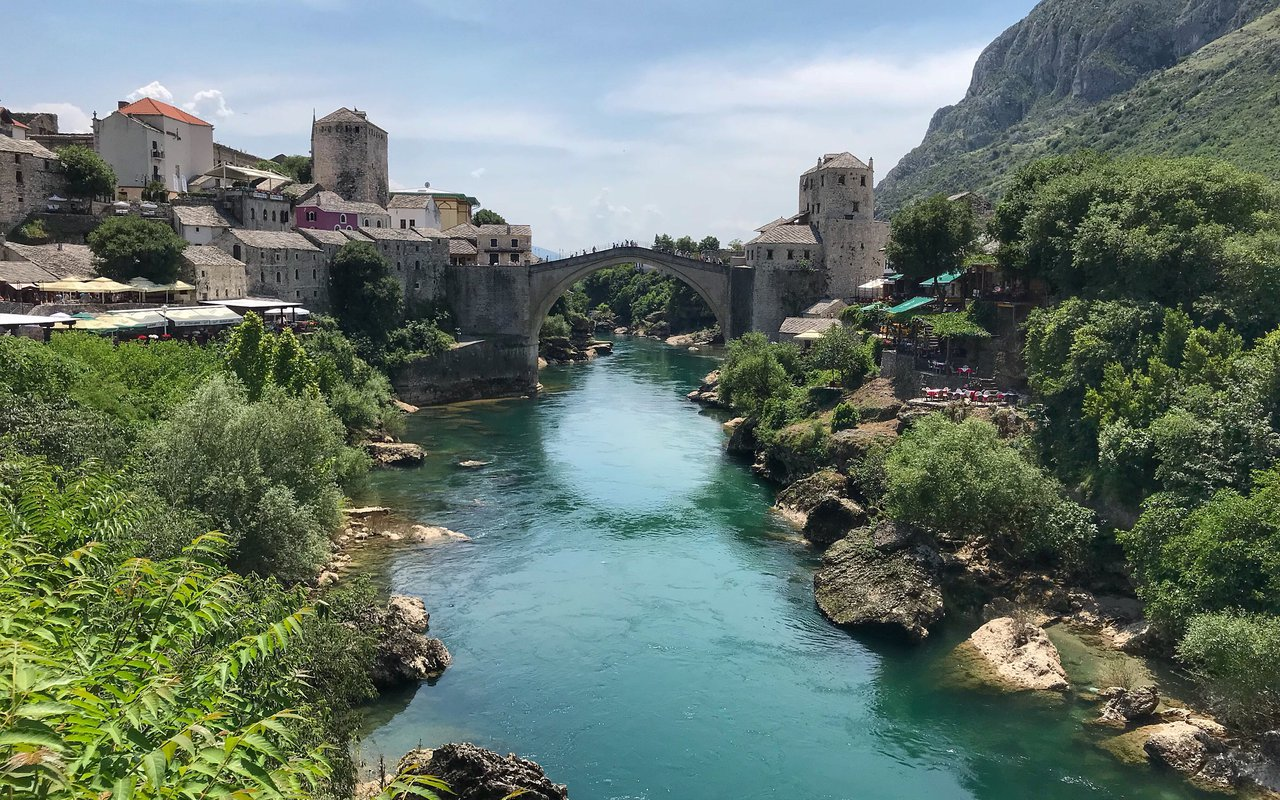 AWAYN IMAGE Bridge Jumping Experience at Mostar