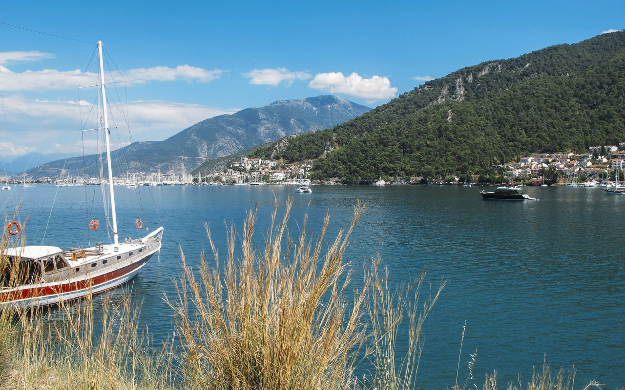 AWAYN IMAGE Butterfly Valley fethiye A Green Oasis