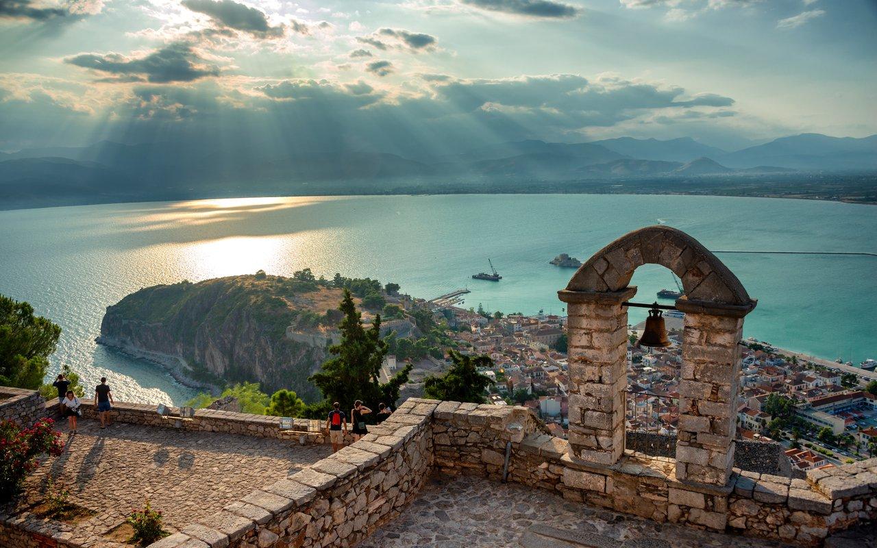 AWAYN IMAGE Visit and Explore the Bourtzi Castle