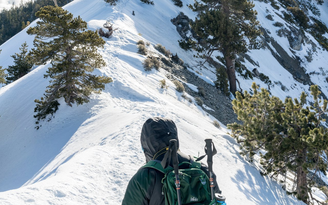 AWAYN IMAGE Ski in Mt. Baldy Ski Area (Mount Baldy)
