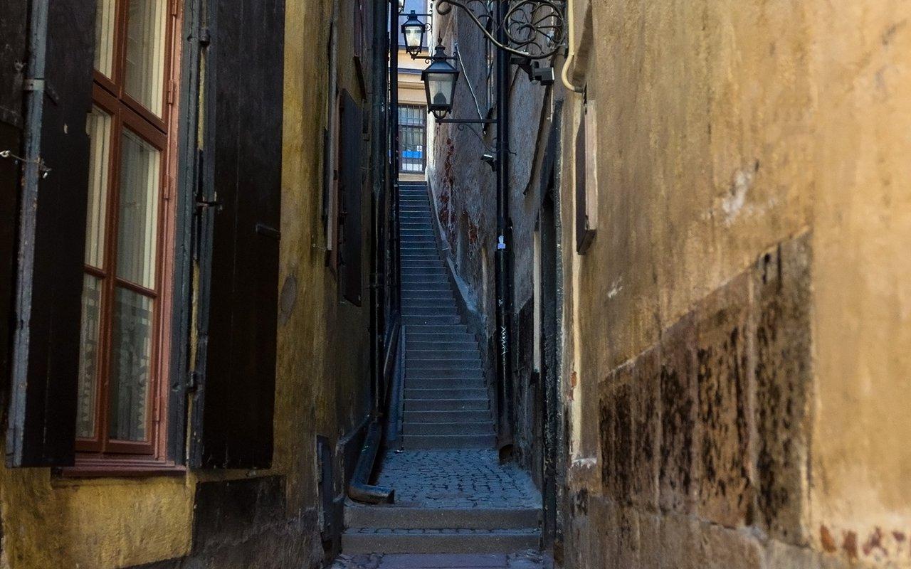 AWAYN IMAGE Explore Mårten Trotzig Alley