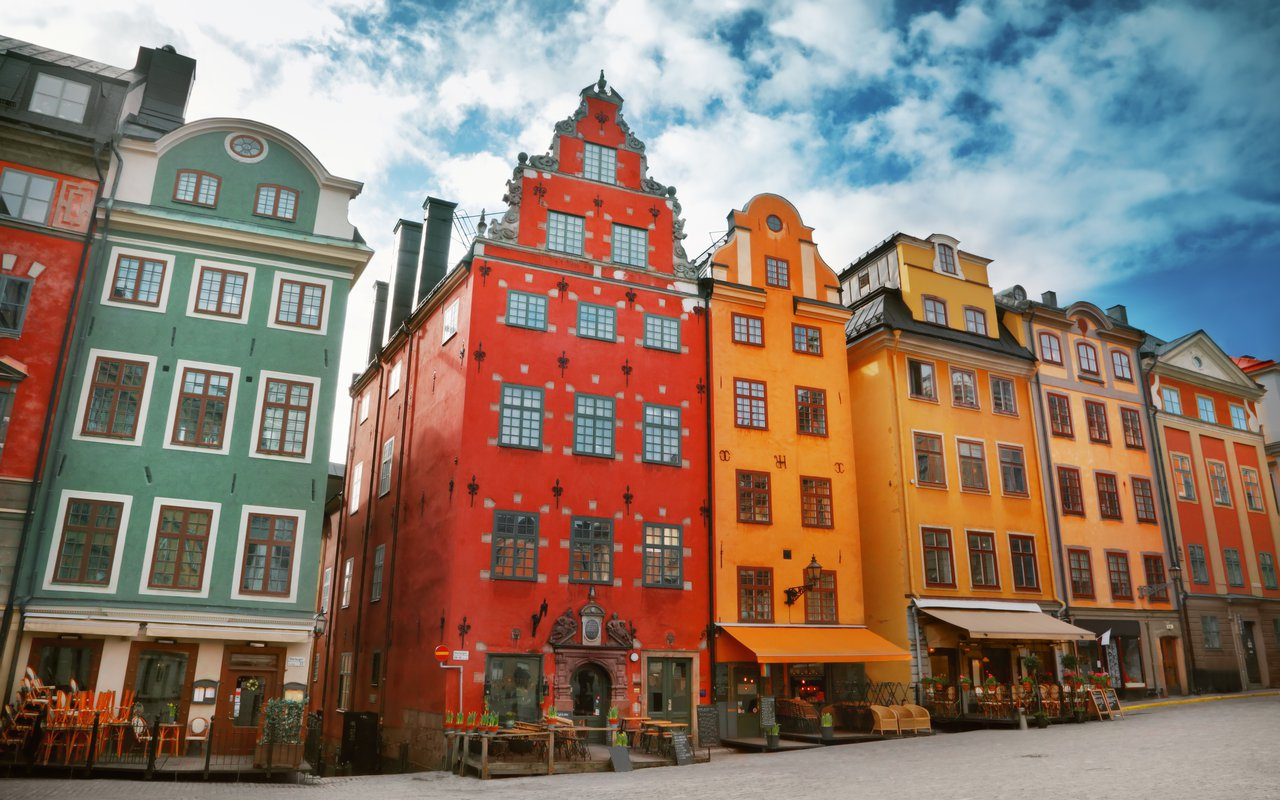 AWAYN IMAGE Explore  historical sights of the Gamla Stan