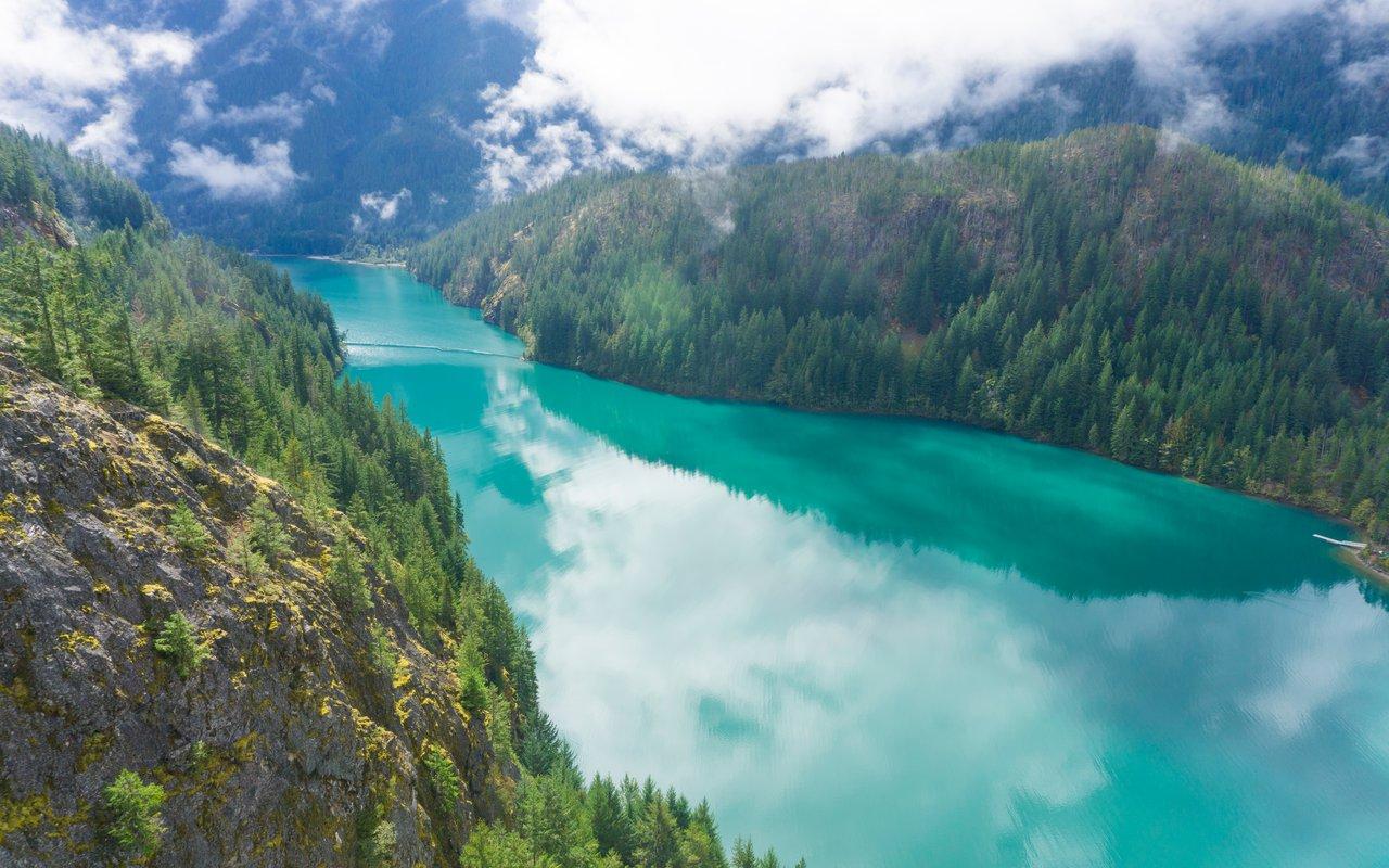 AWAYN IMAGE Diablo Lake Overlook