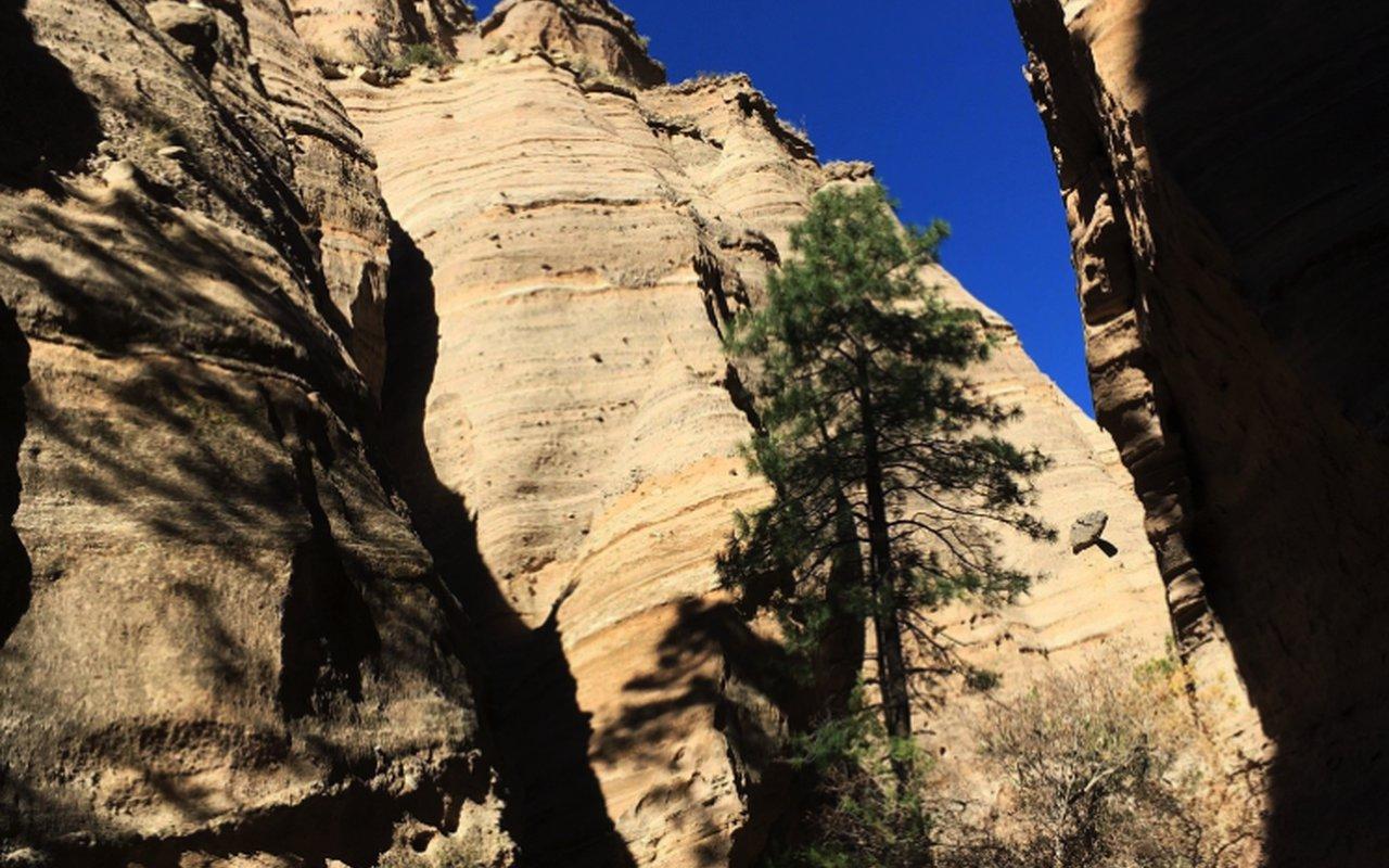 AWAYN IMAGE Hike in Kasha Katuwe Tent Rocks National Monument