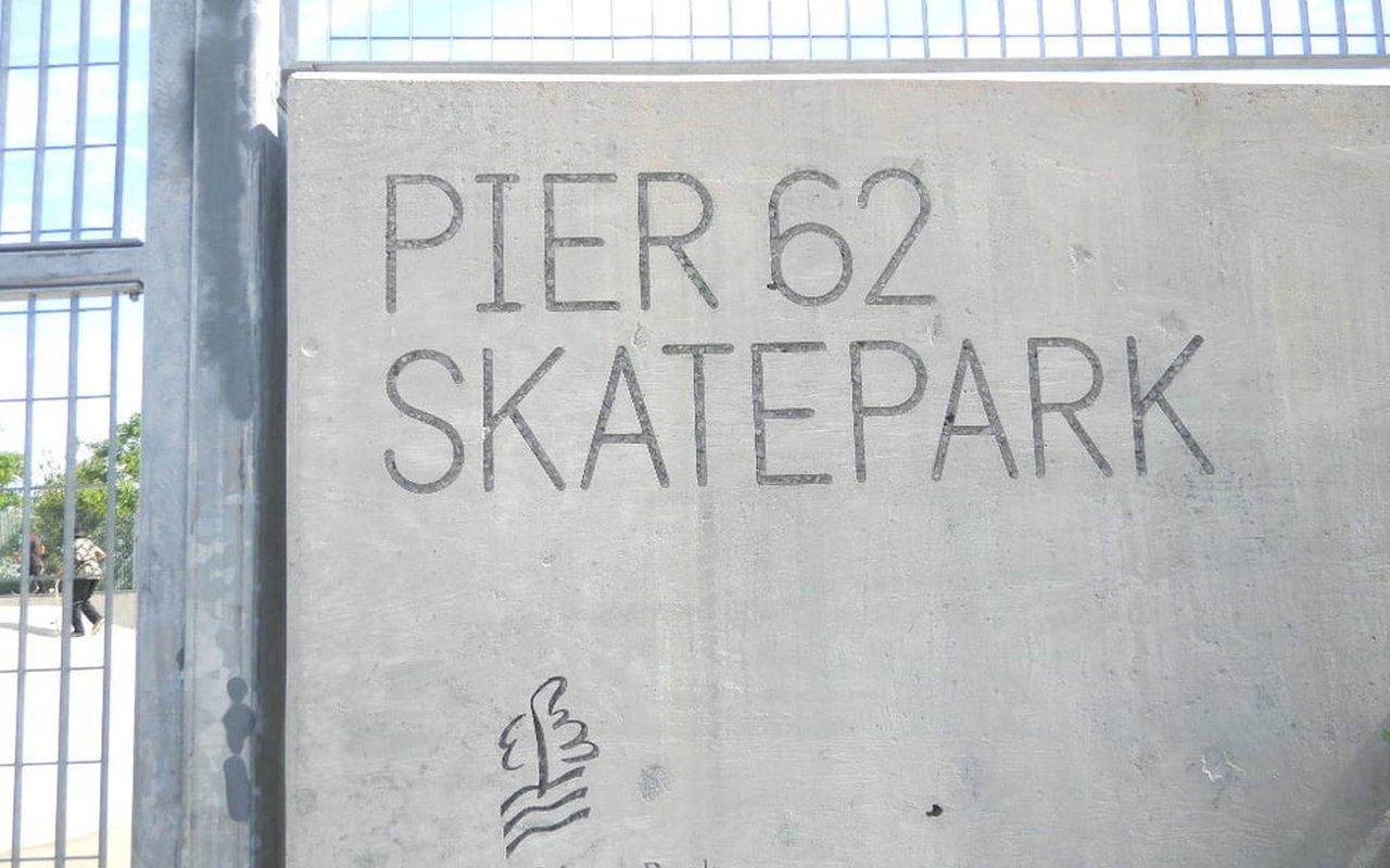 AWAYN IMAGE Pier 62 Skatepark