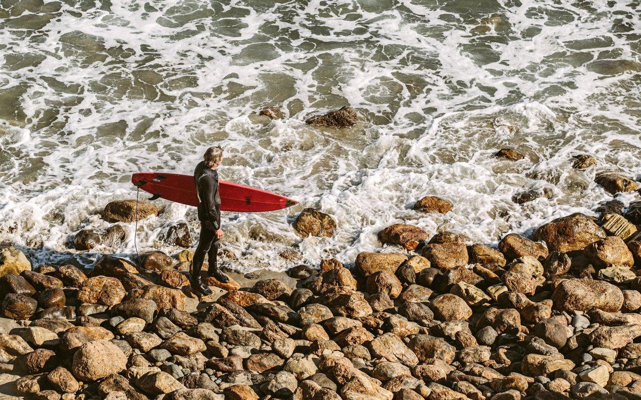 AWAYN IMAGE Malibu surfrider beach