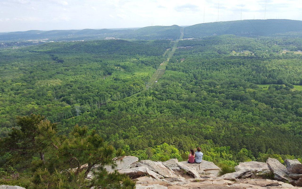 AWAYN IMAGE Pinnacle Mountain West Summit Trail