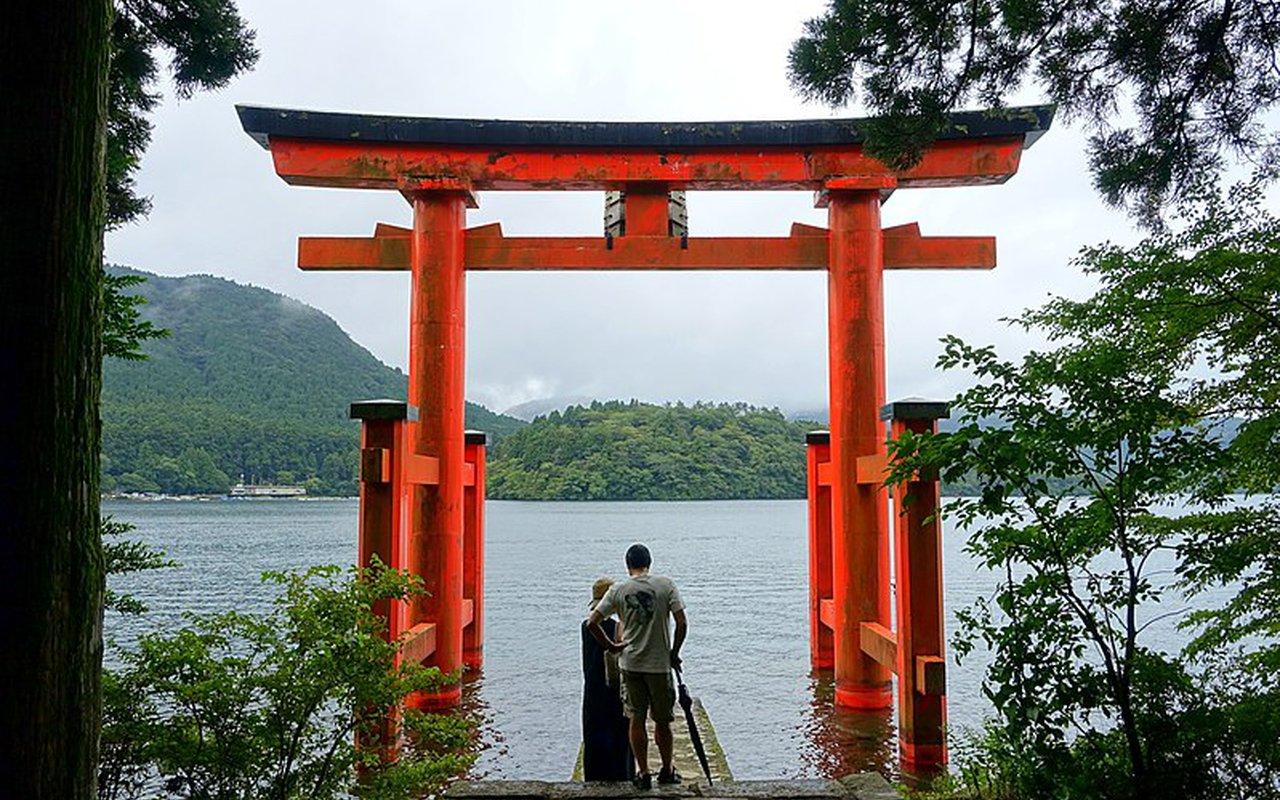 AWAYN IMAGE Hakone Shrine, Japan