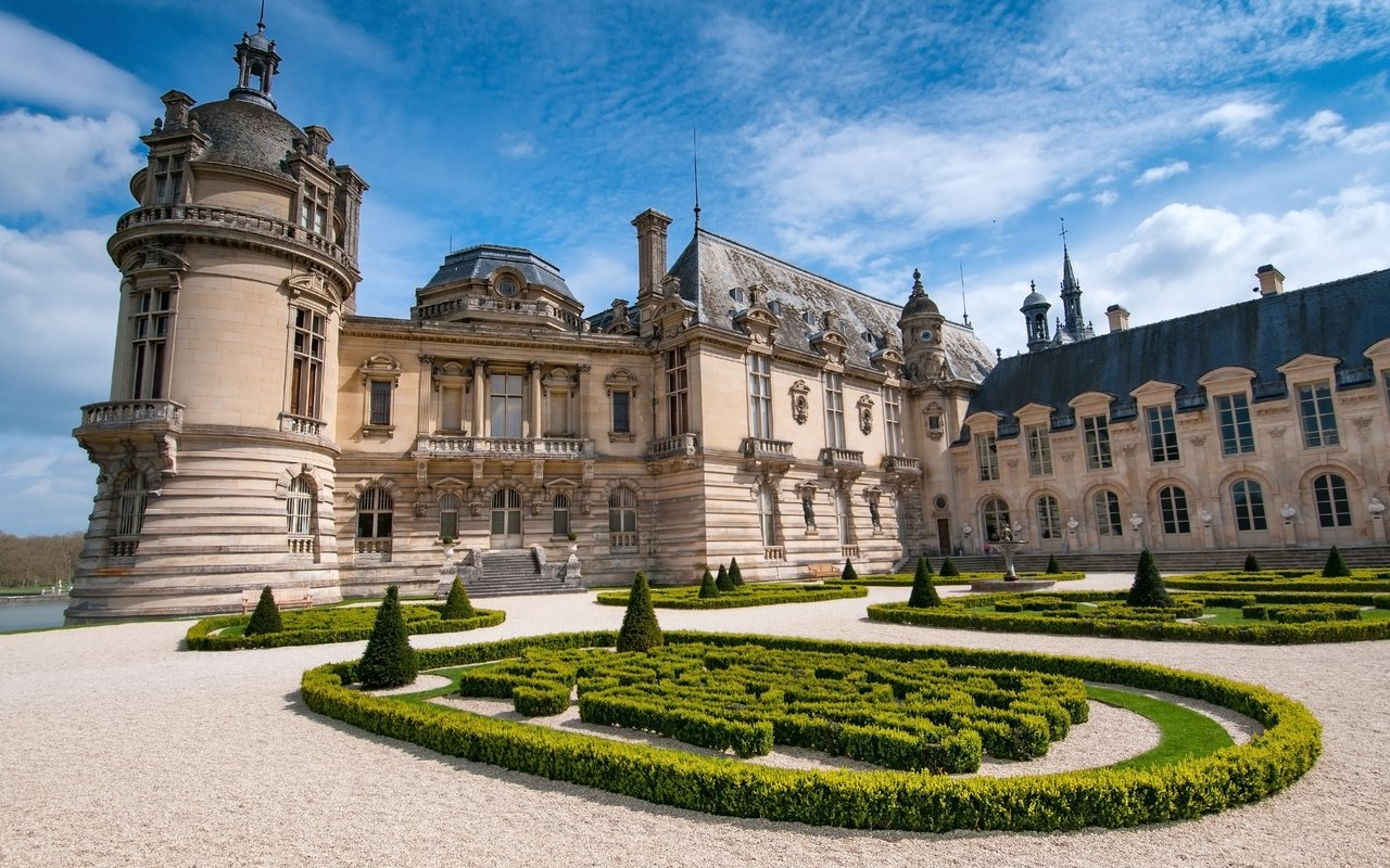 AWAYN IMAGE Roam around Château de Chantilly