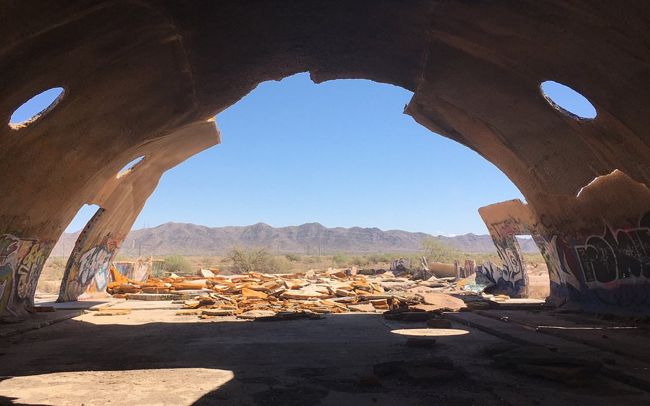 AWAYN IMAGE Photograph The Domes of Casa Grande