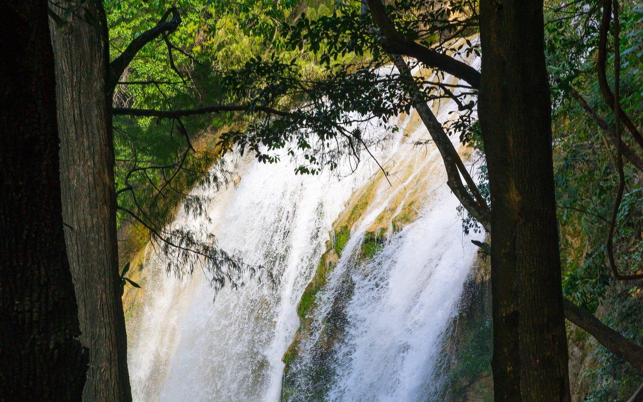 AWAYN IMAGE Hike to Centro Ecoturistico Cadena de Cascadas El Chiflon