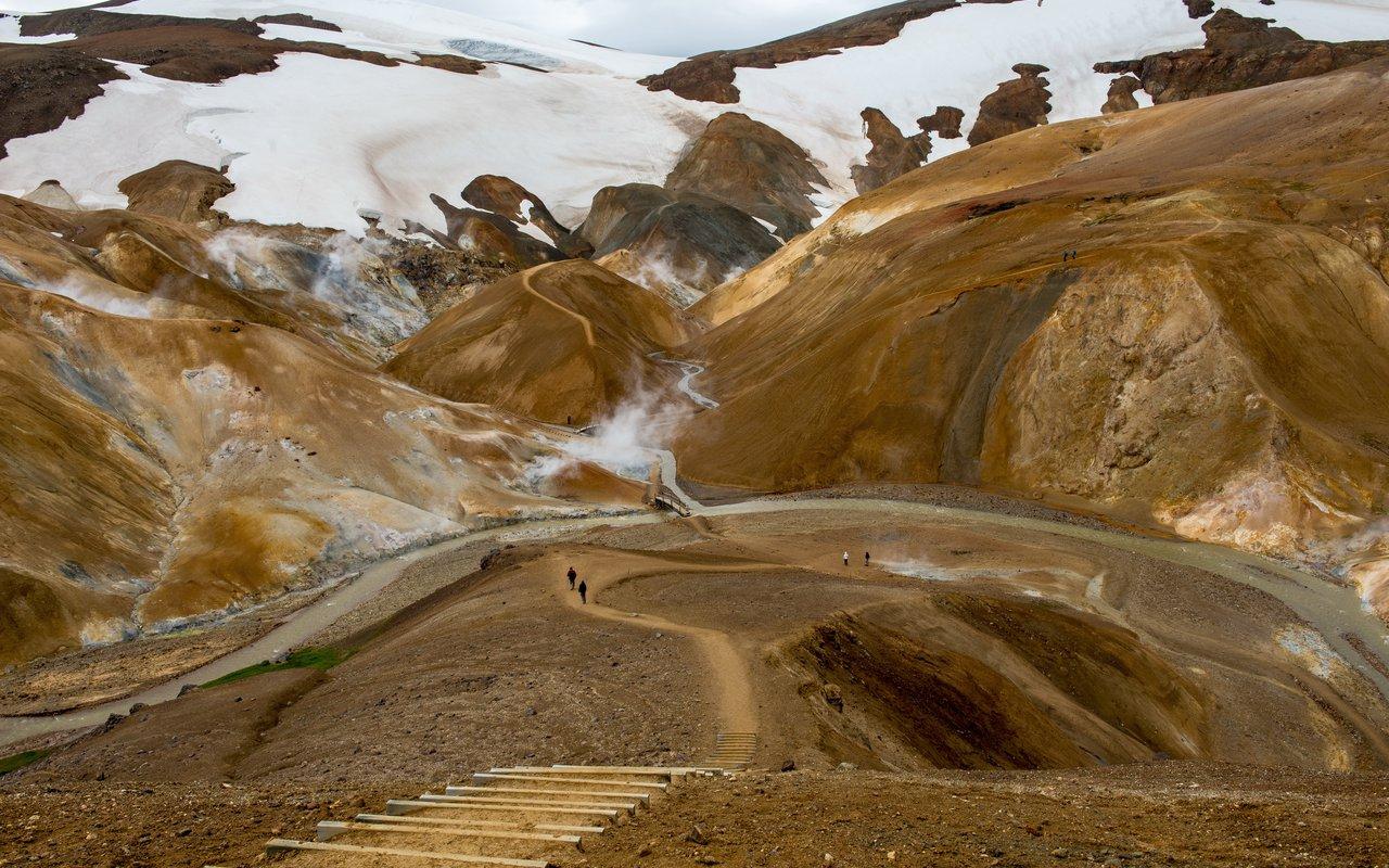 AWAYN IMAGE Kerlingarfjöll Mountain Range Epic Hike