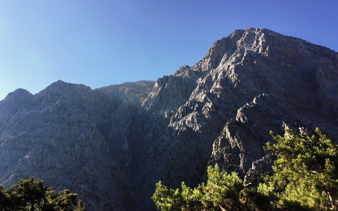 AWAYN IMAGE Hike Samaria Gorge Trail