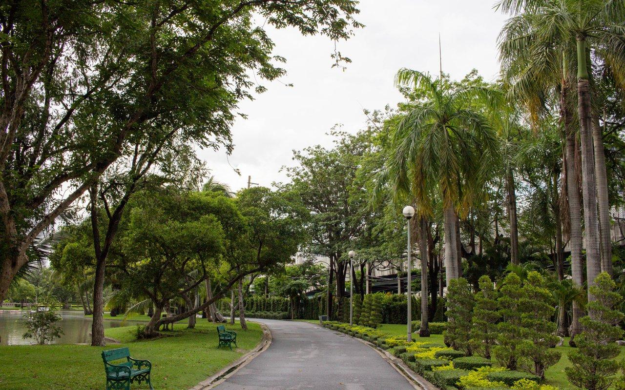 AWAYN IMAGE Stroll or run around Chatuchak Park