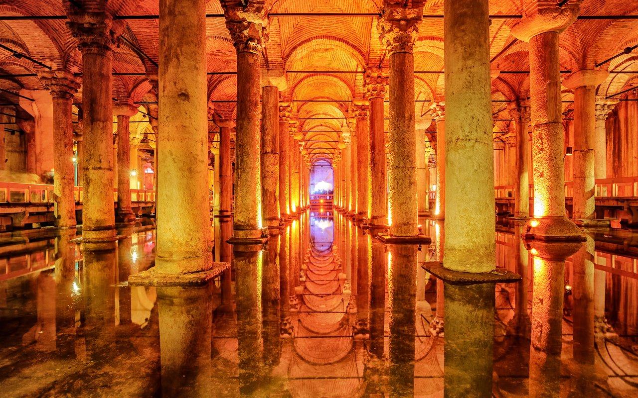 AWAYN IMAGE The Hidden beauty of Basilica Cisterns of Istanbul