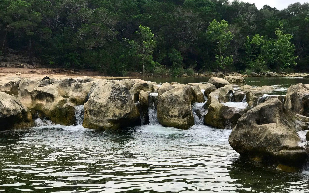 AWAYN IMAGE Sculpture Falls Hike at Barton Creek