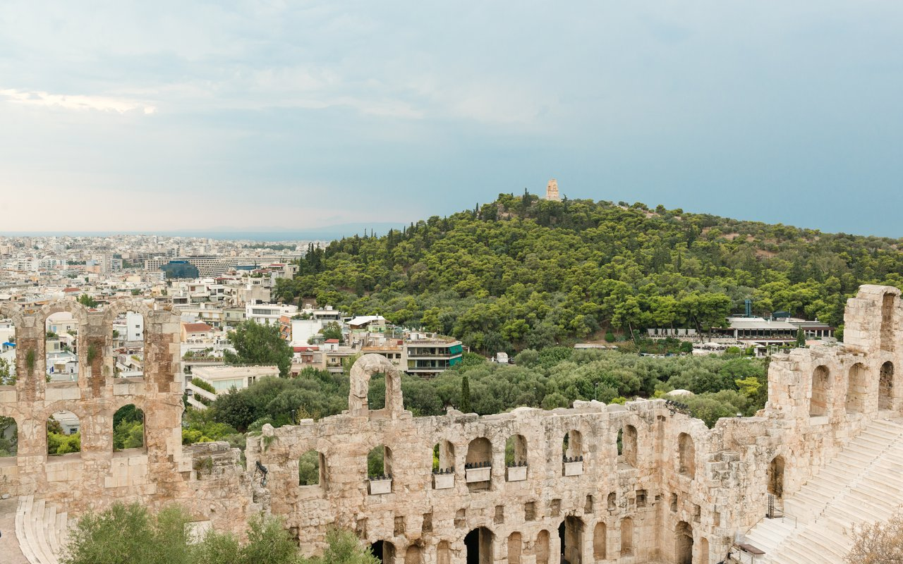 AWAYN IMAGE Hike to Mousseion Hill