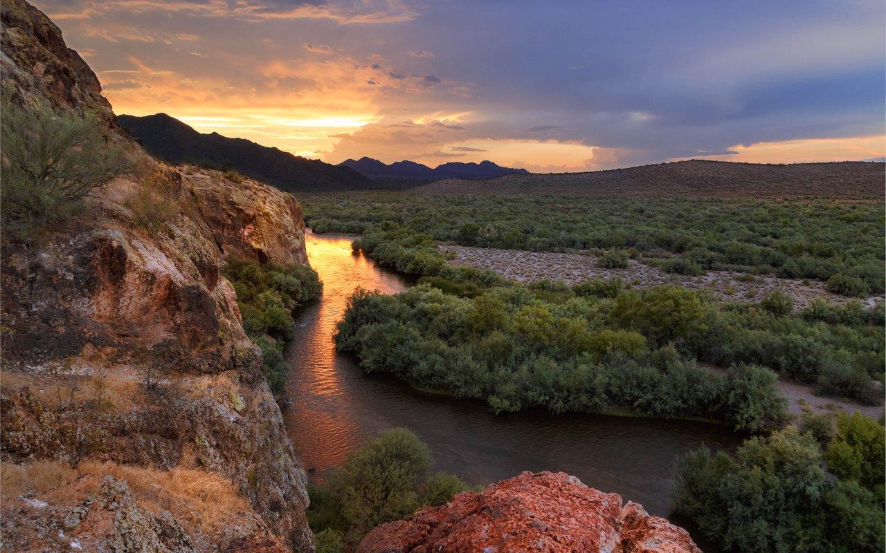 AWAYN IMAGE Phon D Sutton Recreation Area Lower Salt River Nature Trail