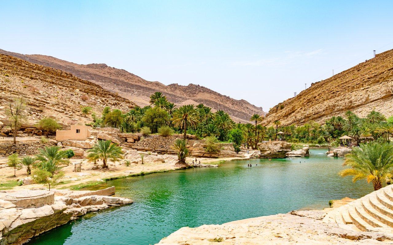 AWAYN IMAGE Wadi Bani Khalid in Oman