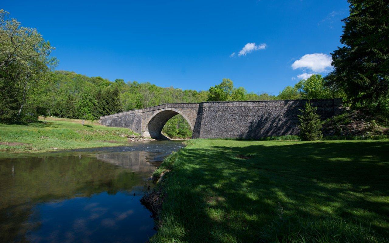 AWAYN IMAGE Photograph Casselman River Bridge State Park