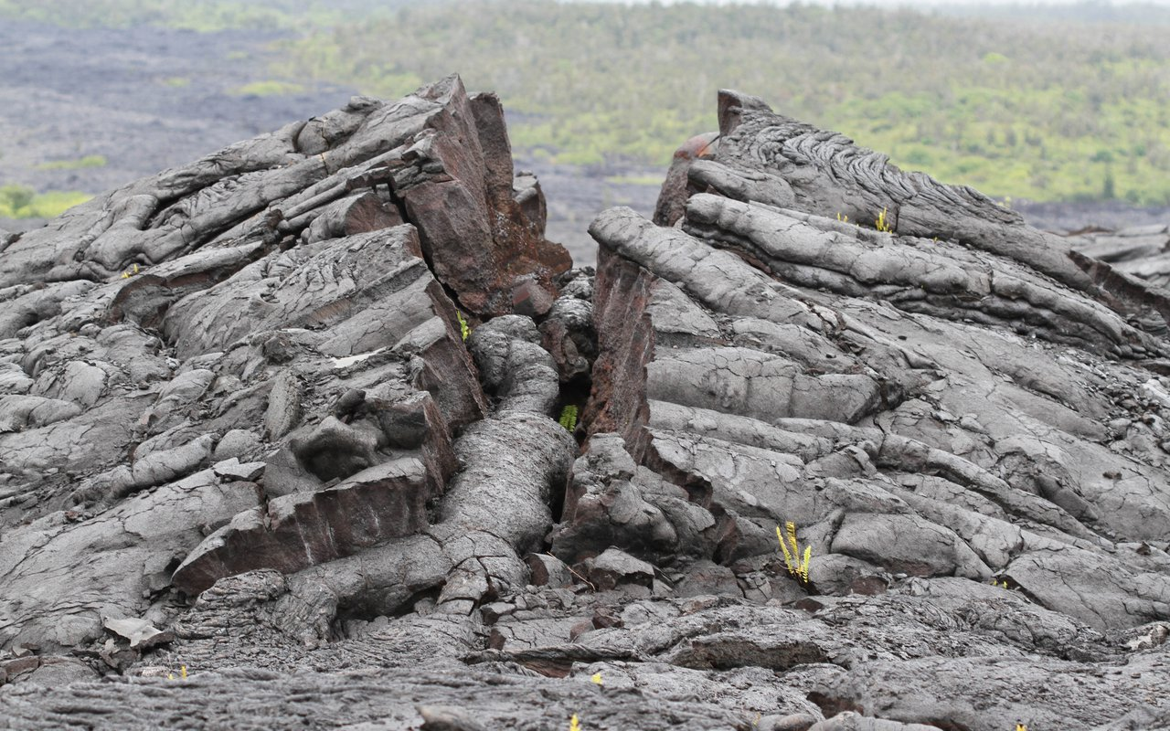 AWAYN IMAGE Walk around the Byaduk caves Tumuli Lava Blisters