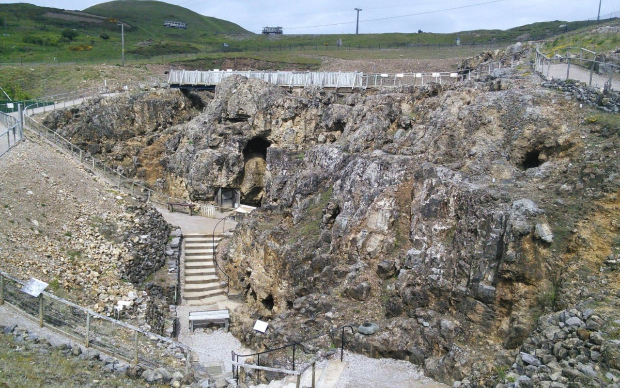 AWAYN IMAGE Great Orme Copper Mine
