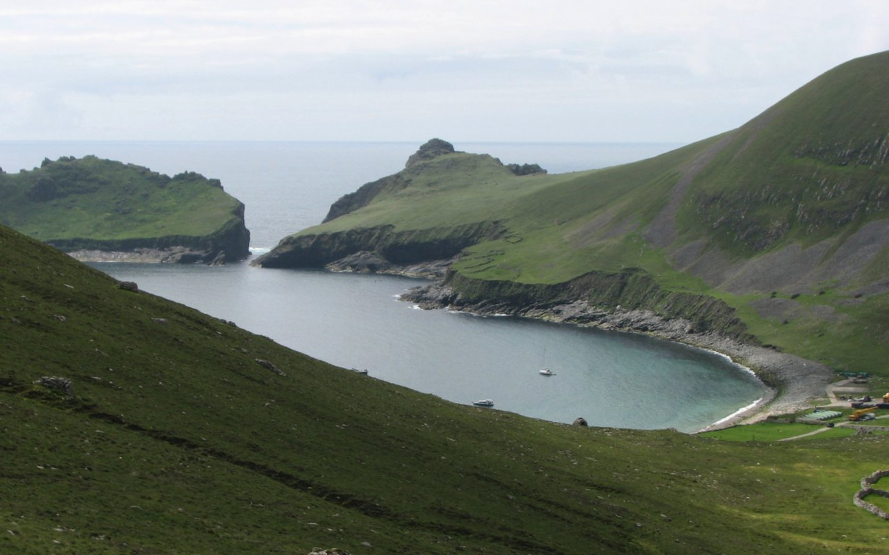 AWAYN IMAGE Boating trip to St. Kilda Hirta Island Ghost Town