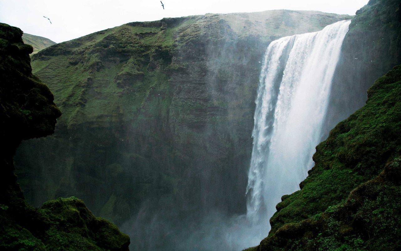 AWAYN IMAGE Skógafoss kvernufoss Fall