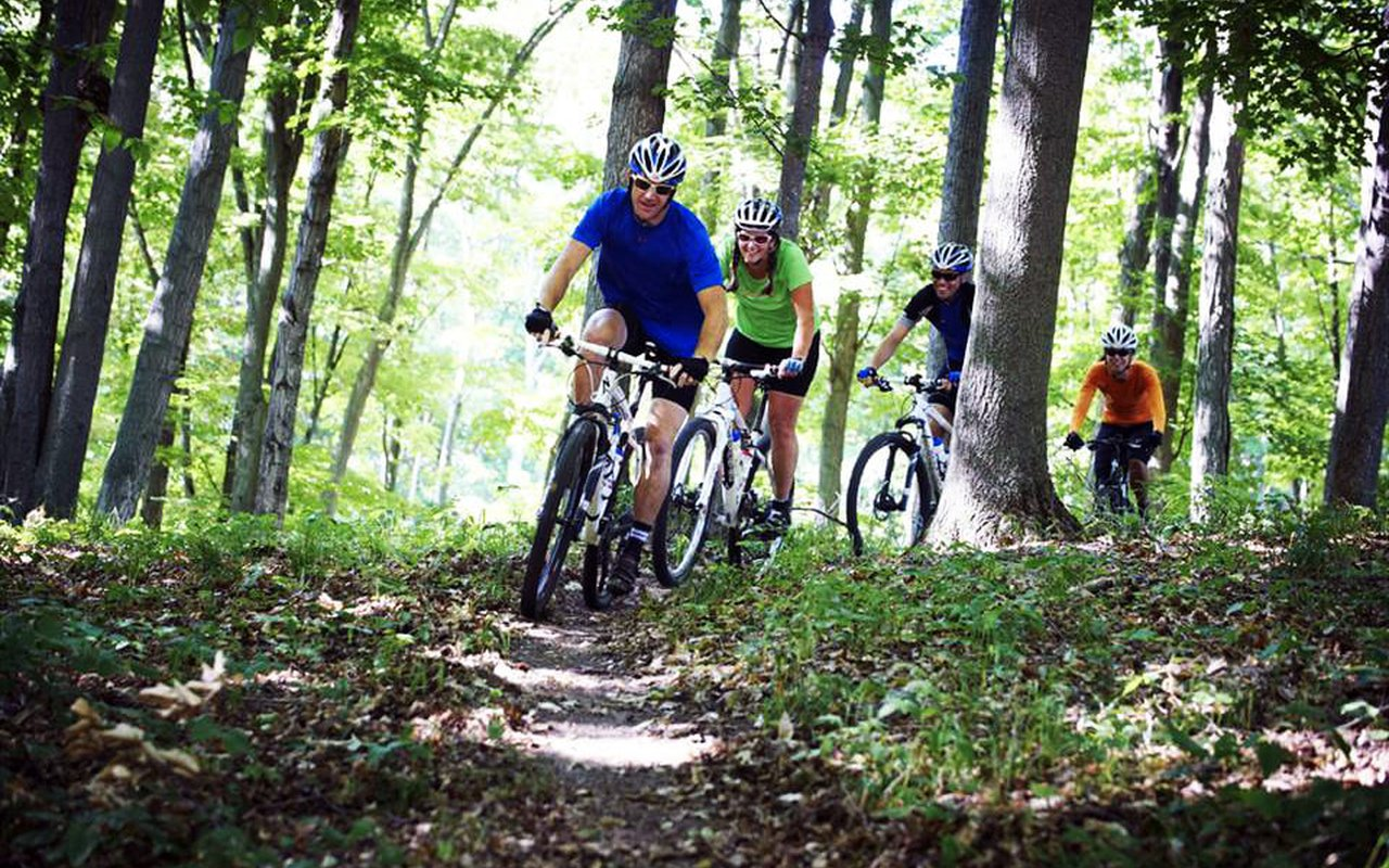 AWAYN IMAGE Comite river park mountain biking