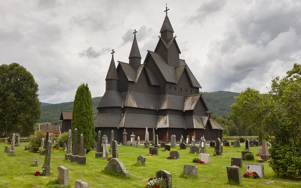 AWAYN IMAGE Visit Borgund Stave Church