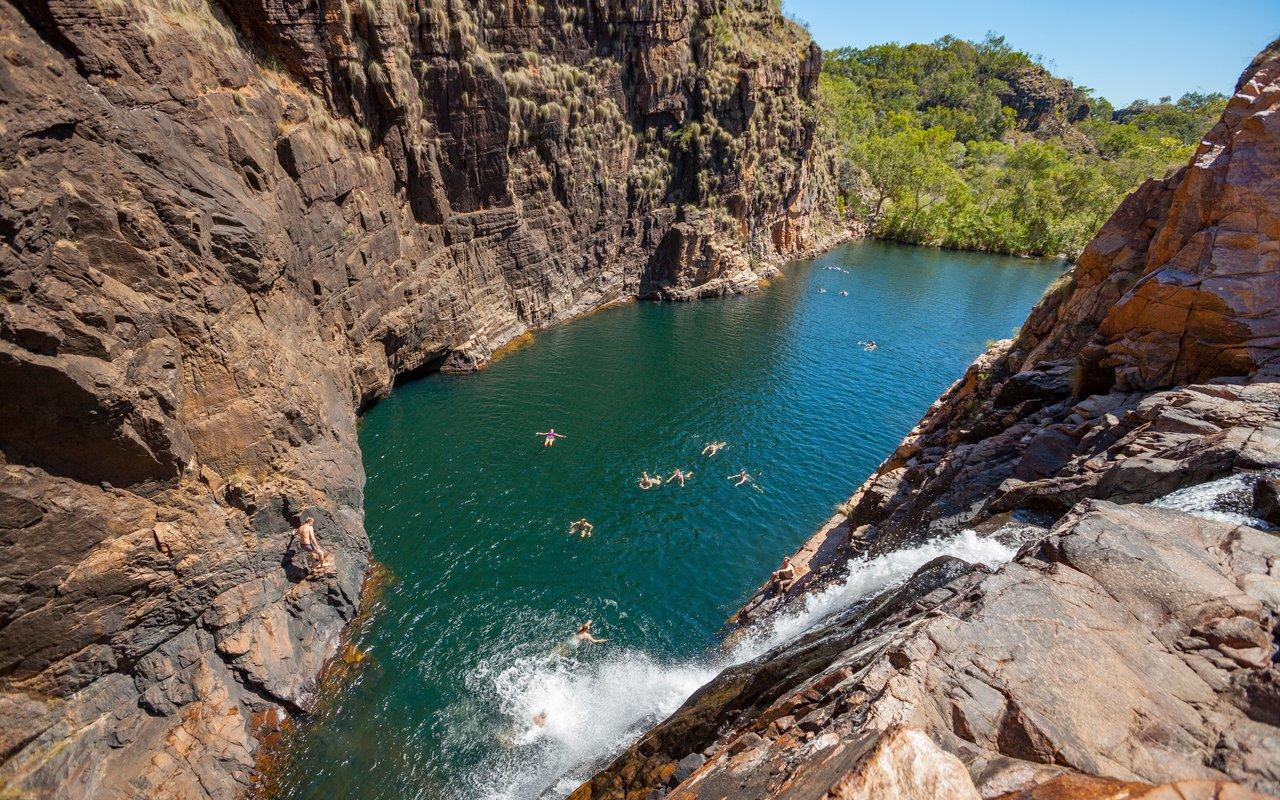 AWAYN IMAGE Barramundi falls