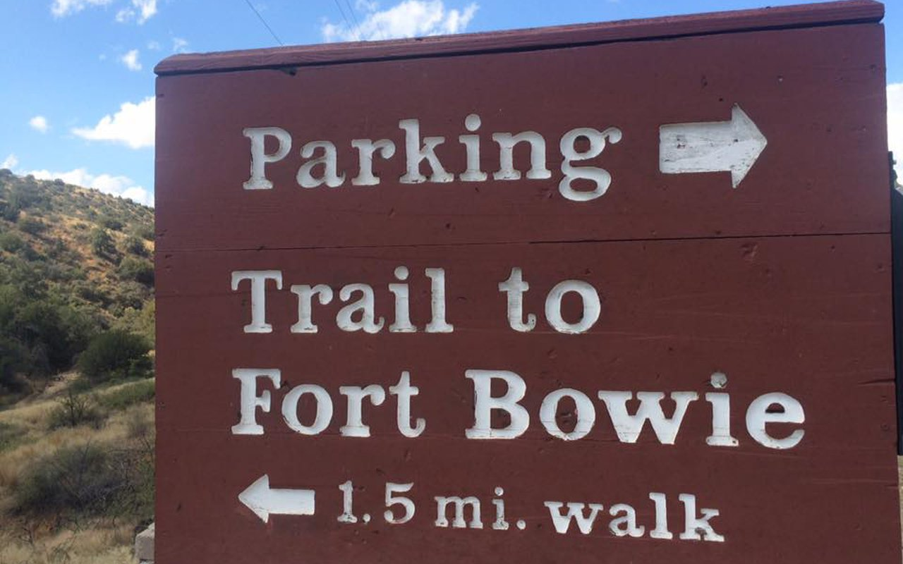 AWAYN IMAGE Hike Up Fort Bowie National Historic Site