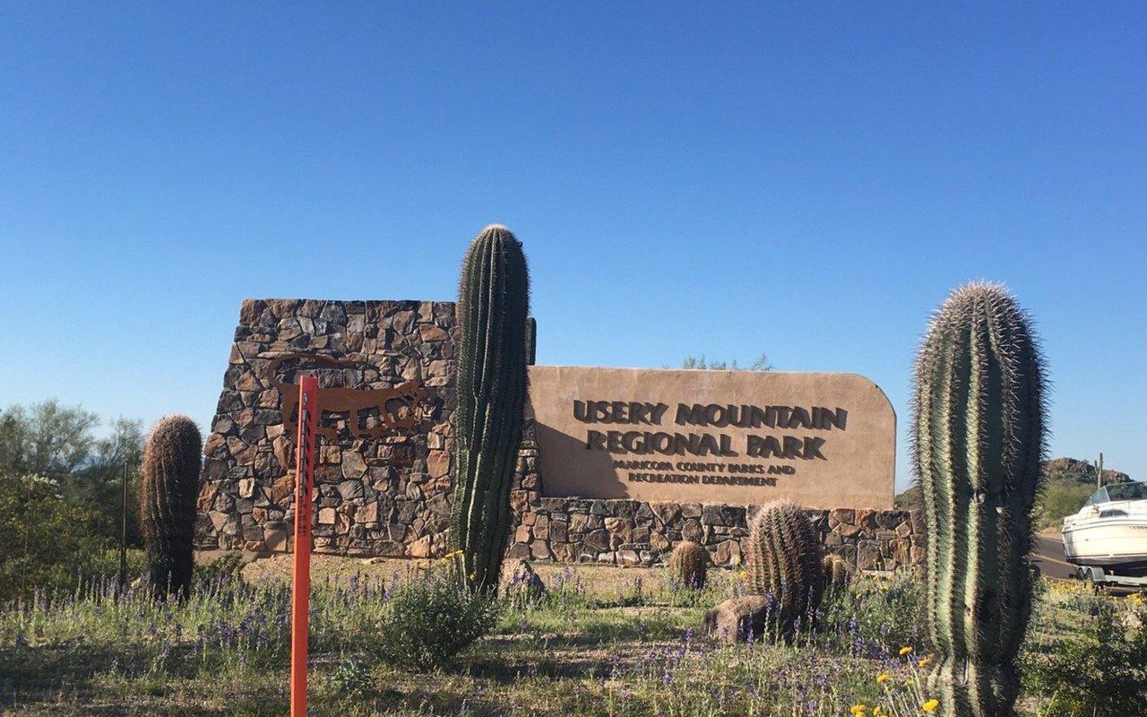 AWAYN IMAGE Usery Mountain Regional Park