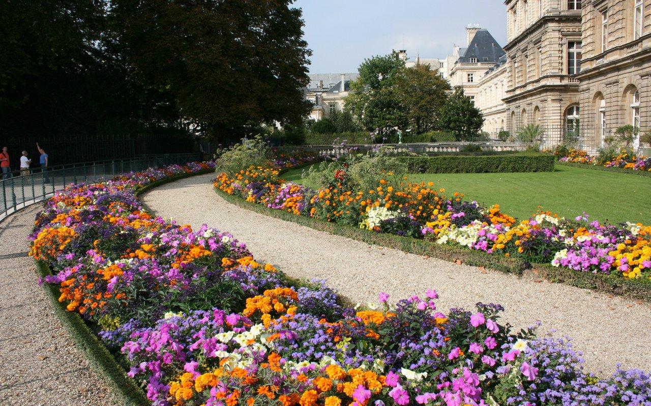 AWAYN IMAGE Chill in Jardin du Luxembourg
