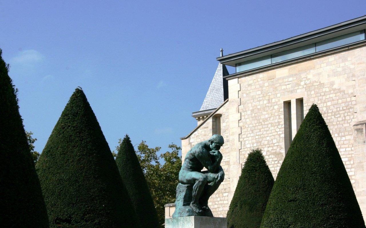 AWAYN IMAGE Photograph the Musee Rodin