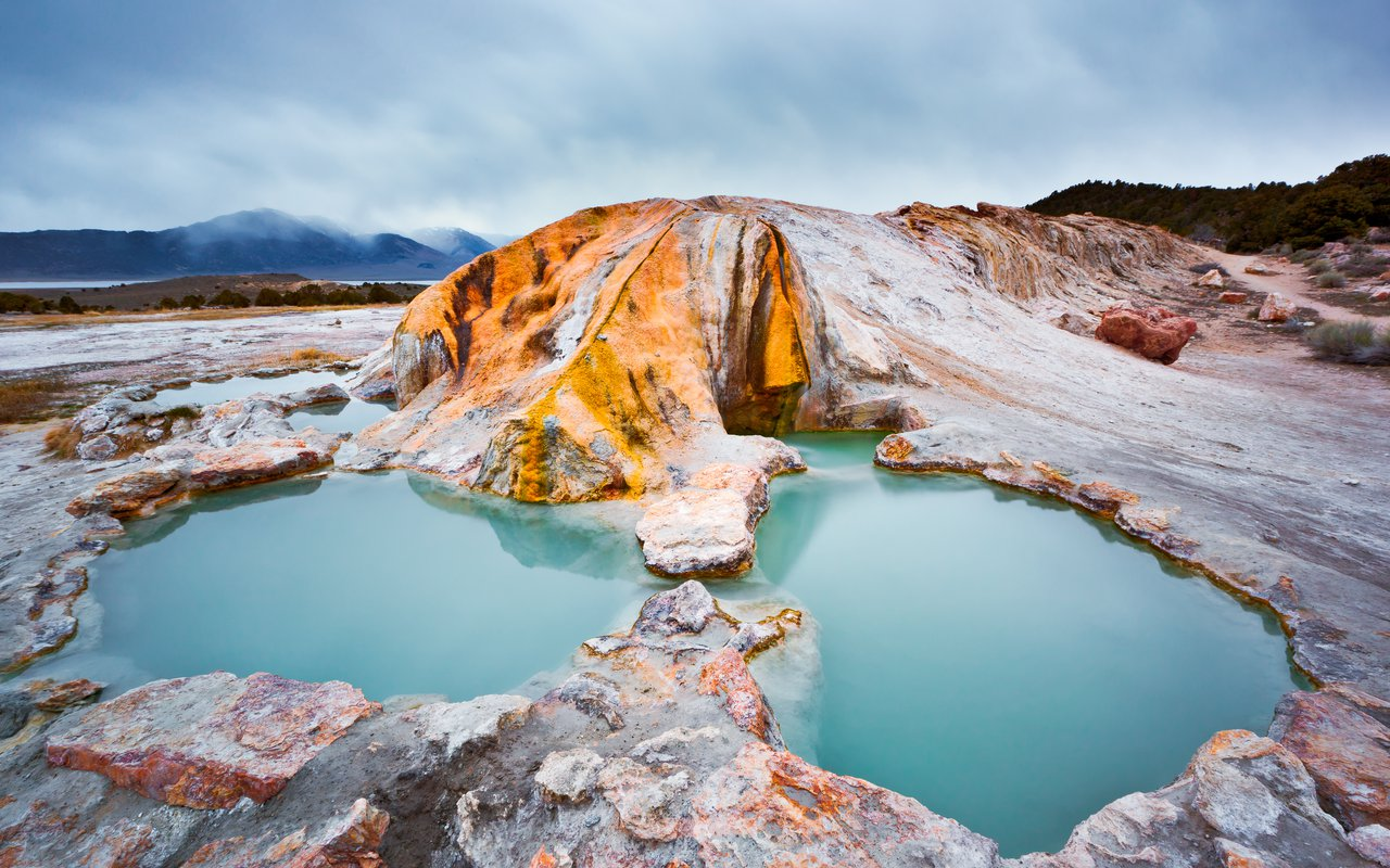 AWAYN IMAGE Travertine Hot Springs