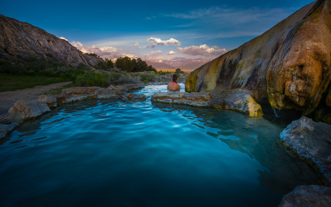 AWAYN IMAGE Travertine Hot Springs