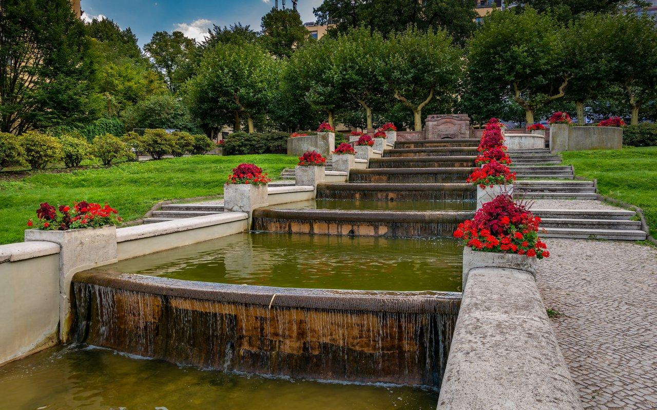 AWAYN IMAGE Stroll around Lietzenseepark