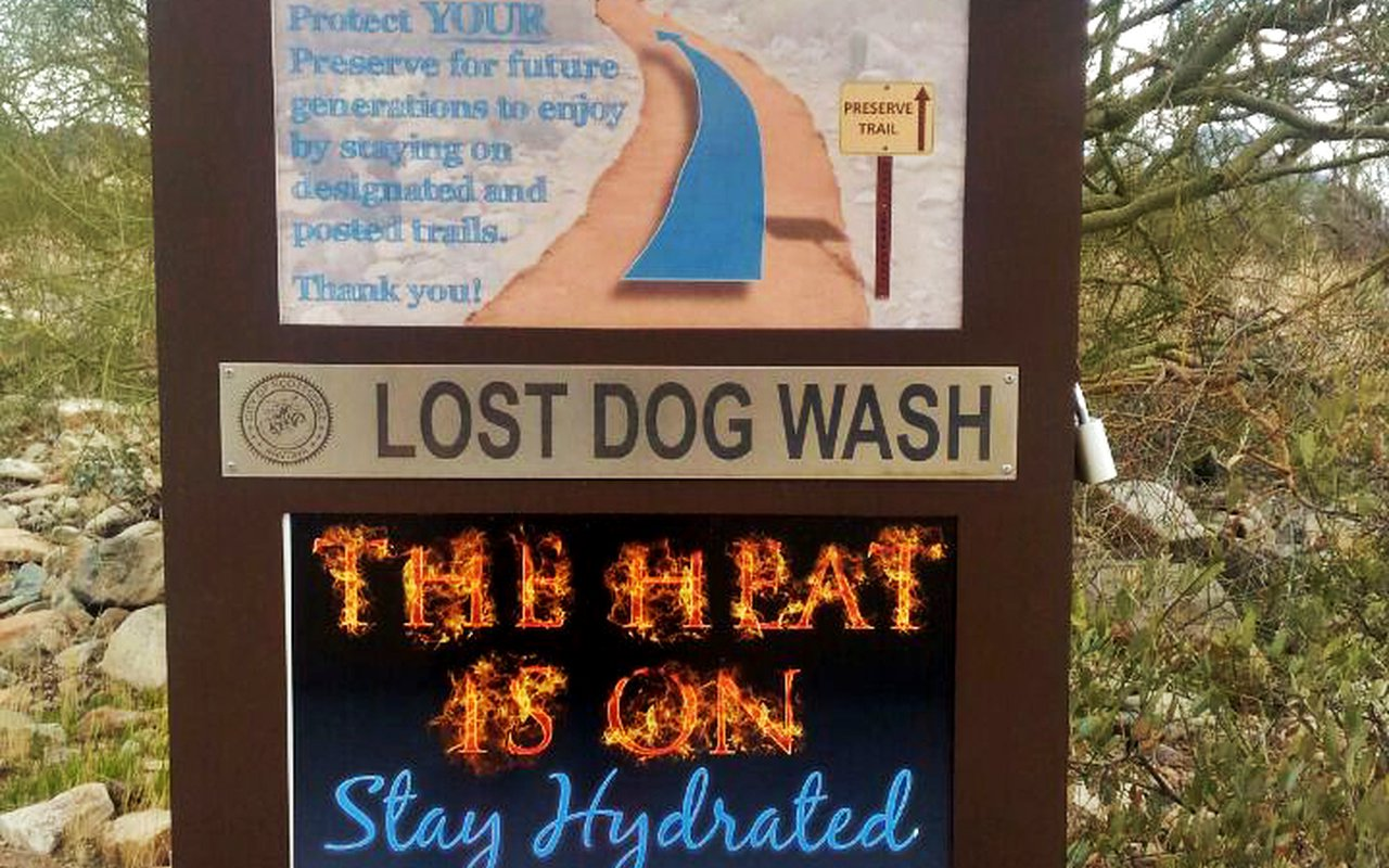 AWAYN IMAGE Lost Dog Wash to Sunrise Trail