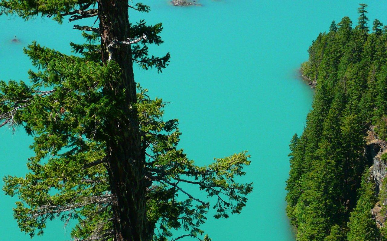 AWAYN IMAGE Diablo Lake Overlook Ross Lake National Recreation Area, North Cascades National Park
