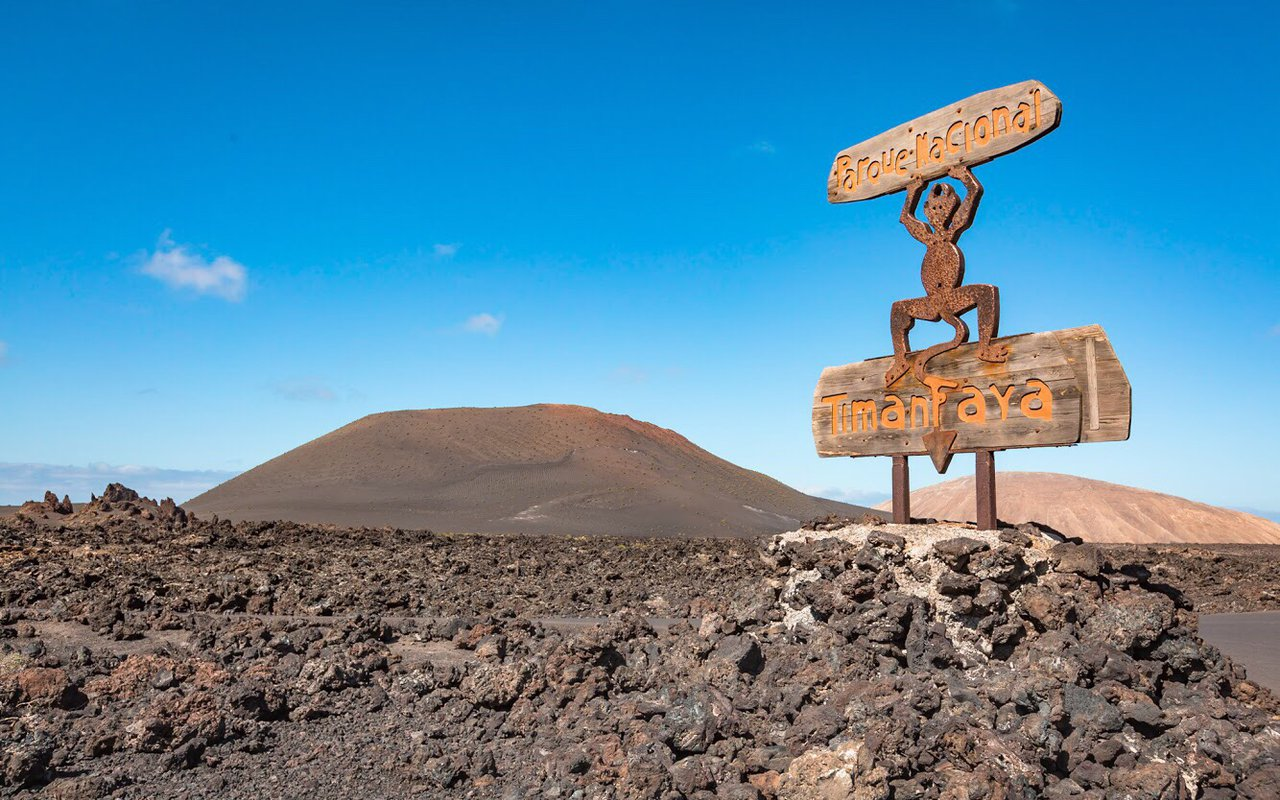 AWAYN IMAGE Hike to Timanfaya National Park