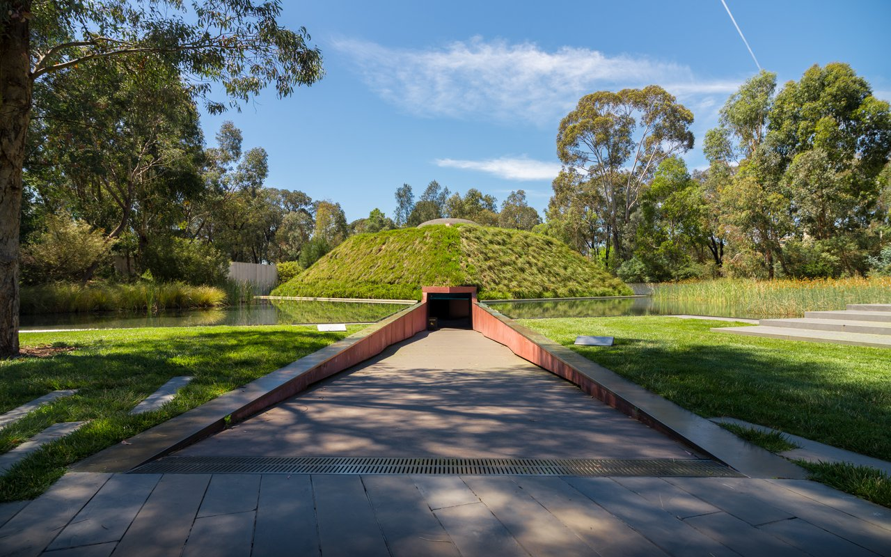 """AWAYN IMAGE """"Within Without"""" James Turrell Skyspace"""